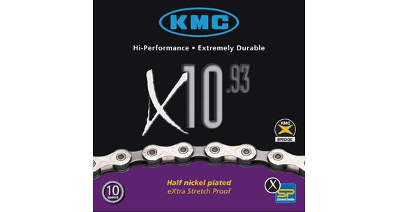 KMC X-10-93 Kette silber/grau
